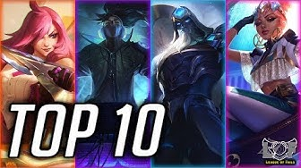 Top 10 Best MID Laner Champions Preseason 2020 - League of Legends | LoL Perfect mid montage