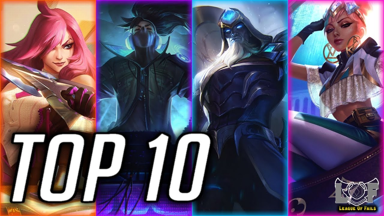 Top 10 Best Mid Laner Champions Preseason 2020 League Of Legends Lol Perfect Mid Montage Youtube