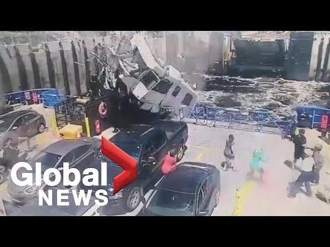 Surveillance video captures