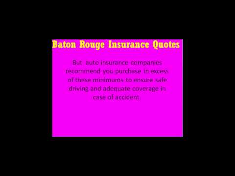 Baton rouge auto insurance quotes