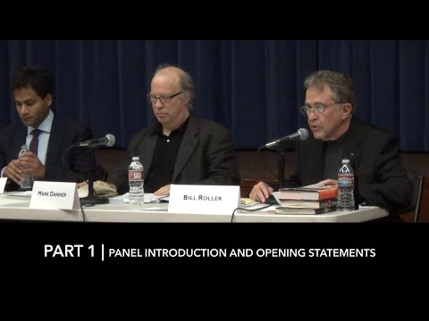 Torture, Security, and Law Symposium at Berkeley- Part 1 of 3