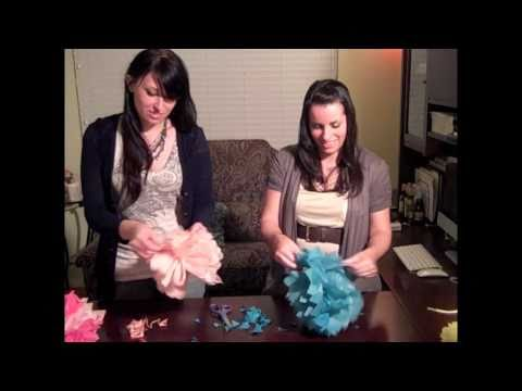 How to Make Tissue Paper Poms (Episode 7)