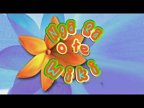 Ngā Rā o te Wiki - Days of the Week