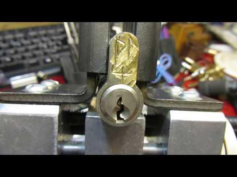 Взлом отмычками Yale   (246) PD4 Yale Pinned by The Flying Locksman (PD4 Yale Pinned by The Flying Locksman)