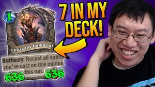 THE MOST INSANE HEIST RUN EVER! NOT CLICKBAIT!! | Rise of Shadows | Hearthstone