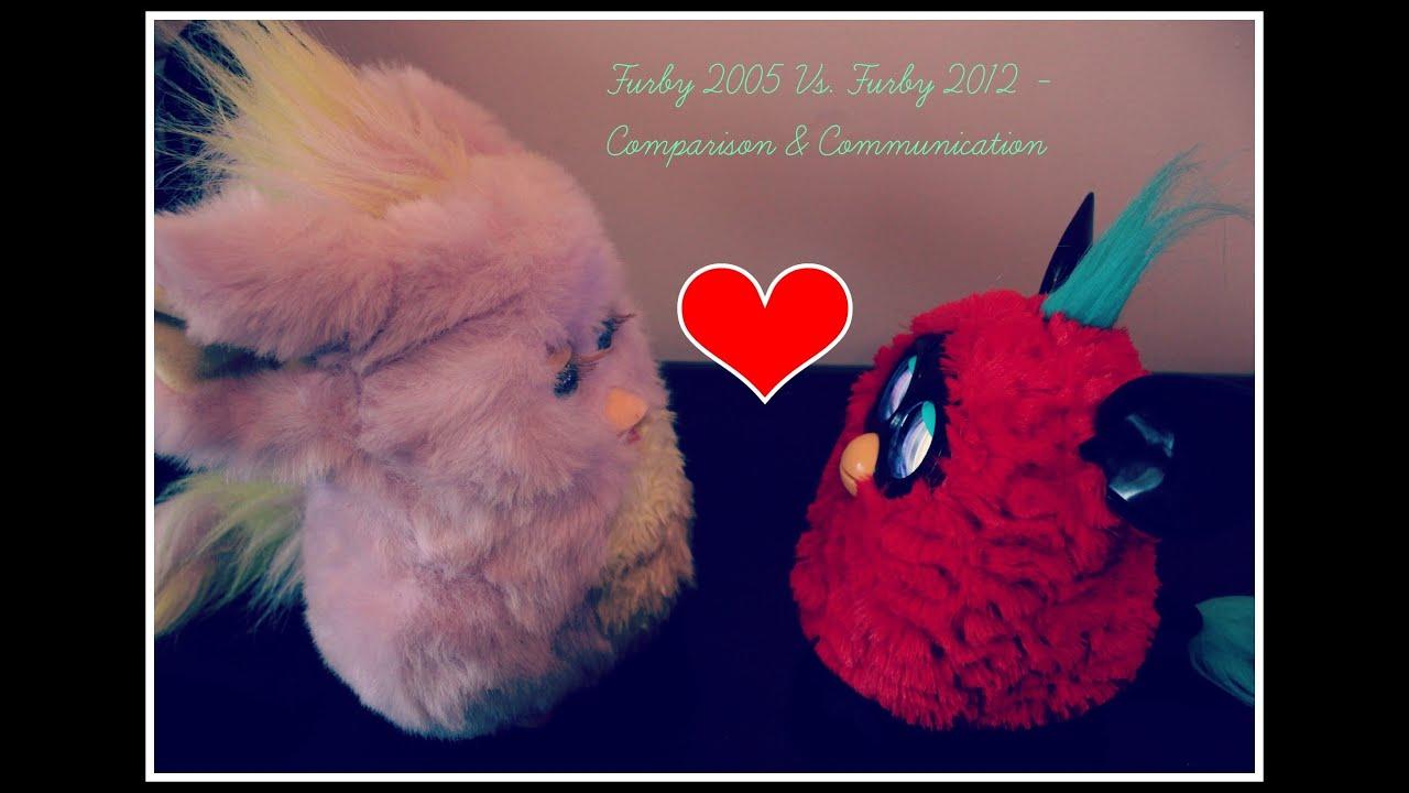 Furby 2005 Vs Furby 2012 Full Conversation Hd Youtube