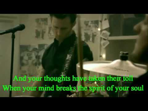 Green Day  21 Guns Music  screen lyrics
