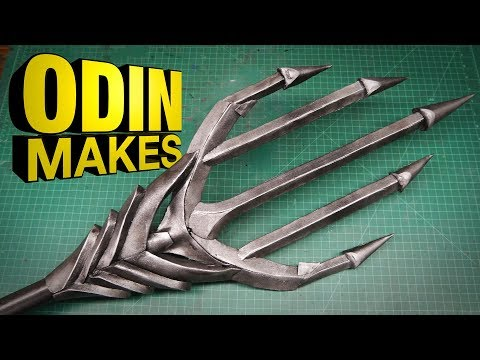 Odin Makes: Aquaman's Trident from Justice League
