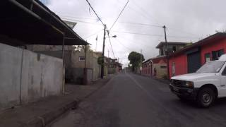 Ile Maurice Route vers Curepipe, Gopro / Mauritius Road to Curepipe, Gopro