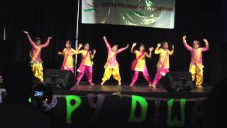 Diya & Friends dance to Gentha Phool & Tooh @ RIA Diwali - 2014