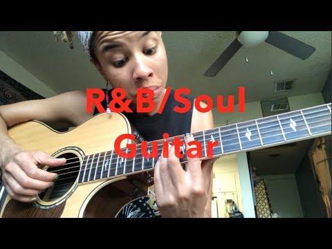 R&B/Soul Guitar Lesson (maj7 pinky tricks)