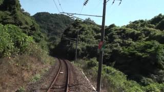 04 View from Train 肥薩おれんじ鉄道HSOR100 肥後田浦-佐敷