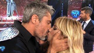 Concurso de besos: Paladini y Guirao Díaz vs Tyago y Rocío Robles