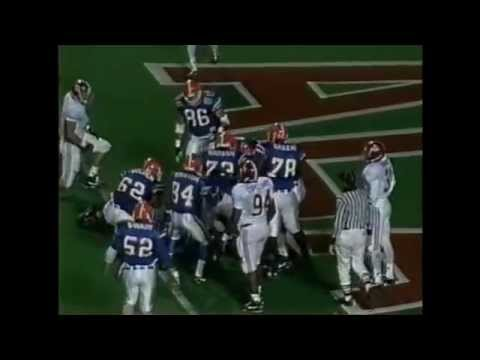 1992 SEC Championship Game - #2 Alabama vs. #12 Florida Highlights