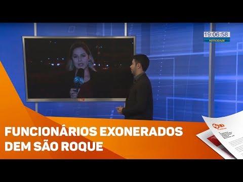 Funcionários comissionados serão exonerados em São Roque - TV SOROCABA/SBT