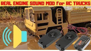 WPL JJRC ENGINE SOUND | FULL REVIEW SOUND ENGINE KIT FOR ALL RC CARS AND TRUCKS | RC WITH POPEYE