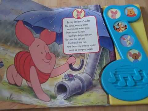 winnie the pooh sing along book