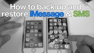 How-To: backup and restore SMS & iMessages on a clean install screenshot 3