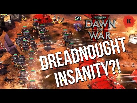 DREADNOUGHTS FOR DAYS?! - Dawn Of War II: Retribution Vengeance Of The Blood Ravens Mod Gameplay