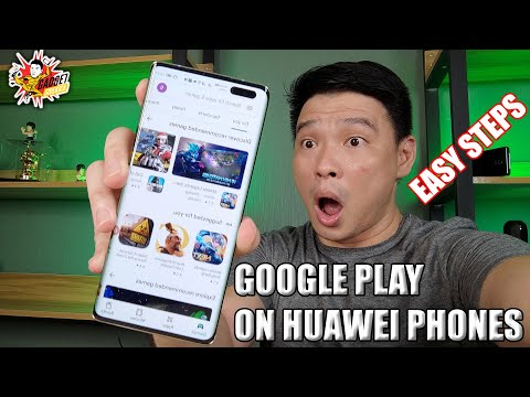 SUPER EASY STEPS to INSTALL GOOGLE PLAY SERVICES ON YOUR HUAWEI and HONOR PHONES for 2021!