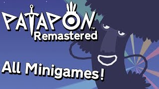 Patapon Remastered - All Minigames