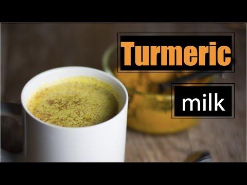 How to make Turmeric Milk - Herbal Medicine