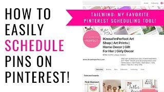 Pinterest Marketing | How to easily use Pinterest to drive traffic to your shop/blog on Auto-pilot!