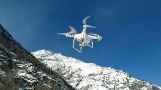Drone footage Switzerland Glacier Express- Täsch Monte Rosa