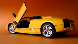 видео Модель машины Lamborghini (Ламборджини)
