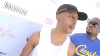 Gillie Da Kid in the studio Working with Will Smith & Talks about his Name Change