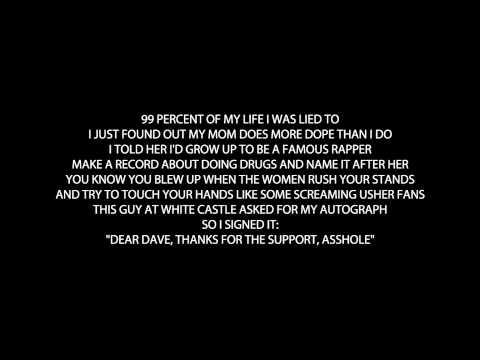 Eminem - My Name Is Lyrics HD 1080p