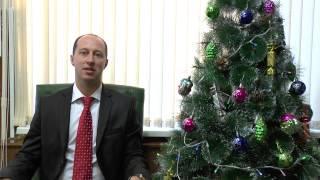 Новогоднее поздравление ио ректора ШГПУ Михайлова АА