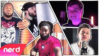 The Spider-Man Rap Battle | Performance Video | #NerdOut ft. Fabvl, Zach Boucher, & Dreaded Yasuke