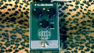 TC Electronic GAUSS Tape Echo pedal demo with Suhr Tele & Princeton Amp