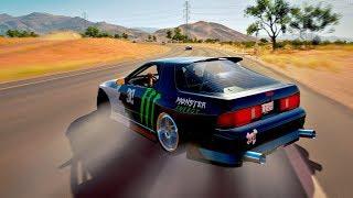 Forza Horizon 3 - Hoonigan Car Pack - Mazda RX-7 Twerk Stallion ( MODIFICADO )