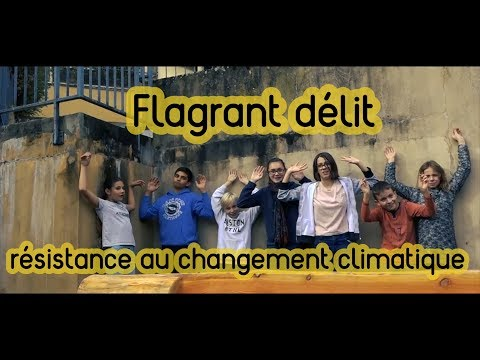Flagrant délit de lutte contre le changement climatique [Collège de Montalieu]