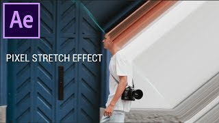 So erstellen Sie eine Pixel-Stretch-Effekt in Adobe After Effects CC (Tutorial)