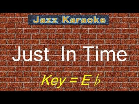 """JazzKara  """"Just In Time"""" (Key=Eb)"""