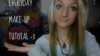everyday makeup tutorial :) Thumbnail