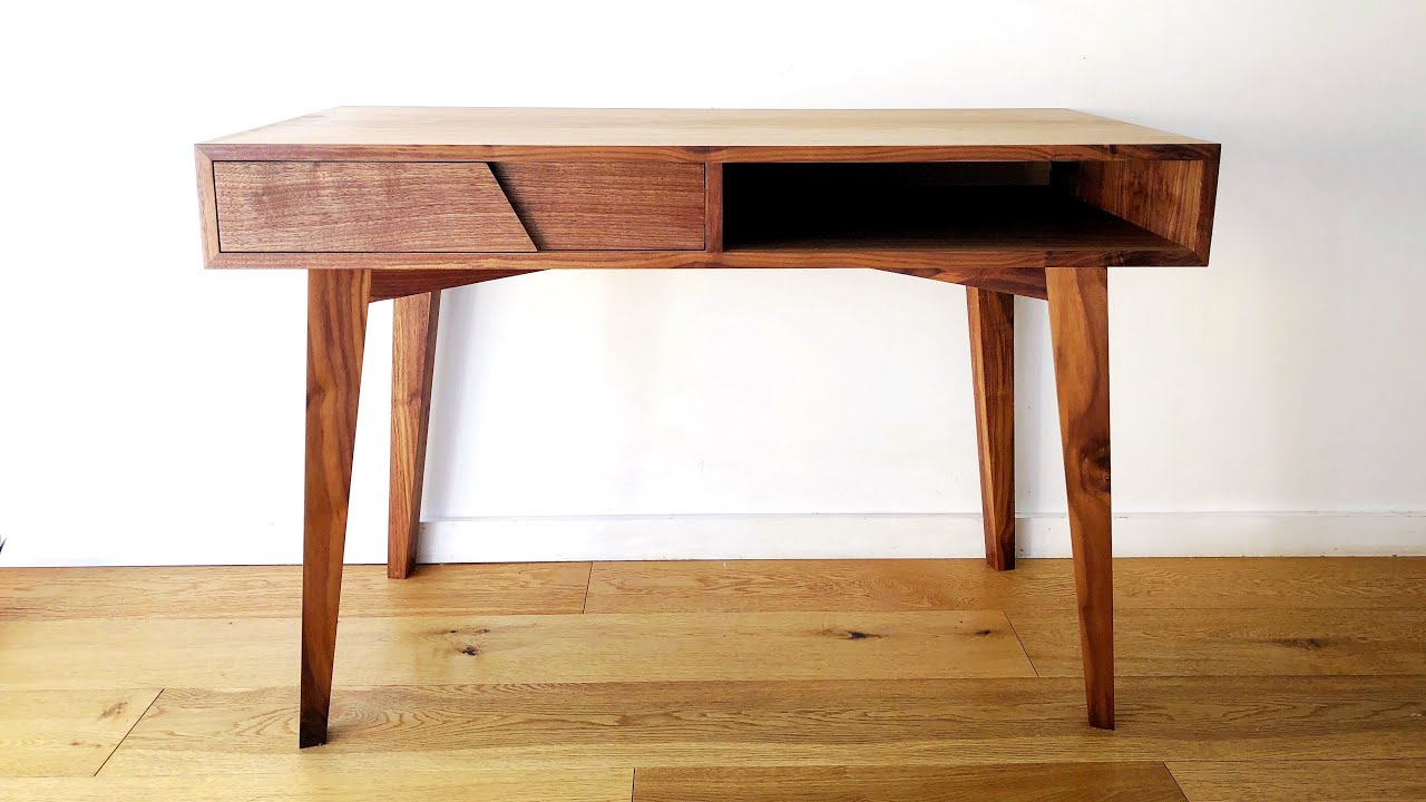 Mid Century Modern Desk Diy Build