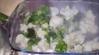 Запеканка с цветной капустой и брокколи (Gul kelemi ve brokkoli ile zapekanka )