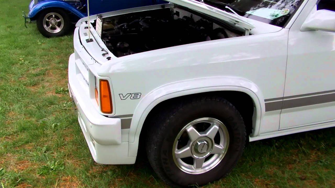 1989 Dodge Shelby Dakota Hd Walkaround Youtube