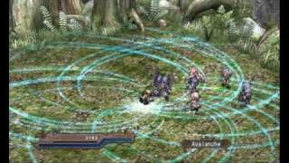 Agarest: Generations of War Combo Gameplay