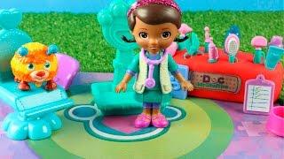 Capitulo Doctora juguetes Veterinaria Maletin de Doc Mc Stuffins en español   Videos de juguetes