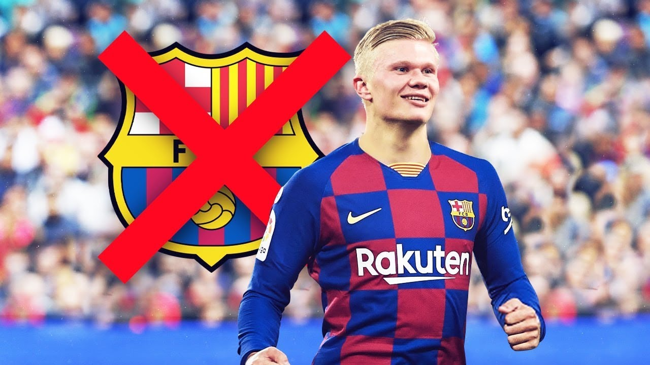 The crazy reason why FC Barcelona refused to sign Erling Haaland ...