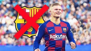 Barcelona could have signed erling haaland not once, but twice. passed on signing haaland...why would pass one of t...