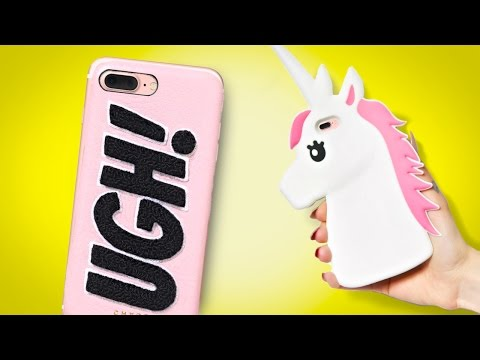 5 DIY iPhone cases you NEED to try! DIY Phone Cases!