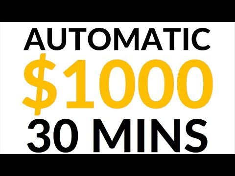 Earn $1,000 in 30 Mins for FREE! (Make Money Online)