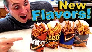 NEW CHIP FLAVORED French FRIES!! Exclusive Sneak Peak Taste Test.