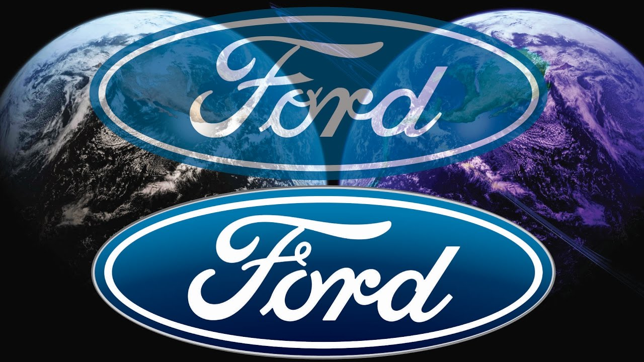 100% PROOF OF FORD LOGO CHANGE